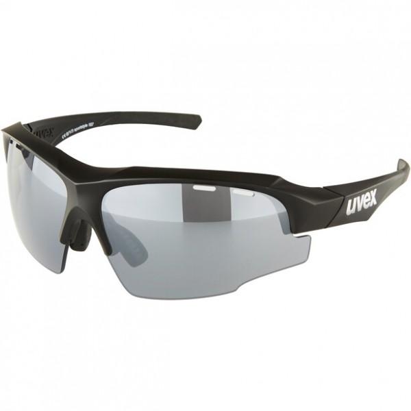 UVEX sportstyle 107 blk-matt / silver
