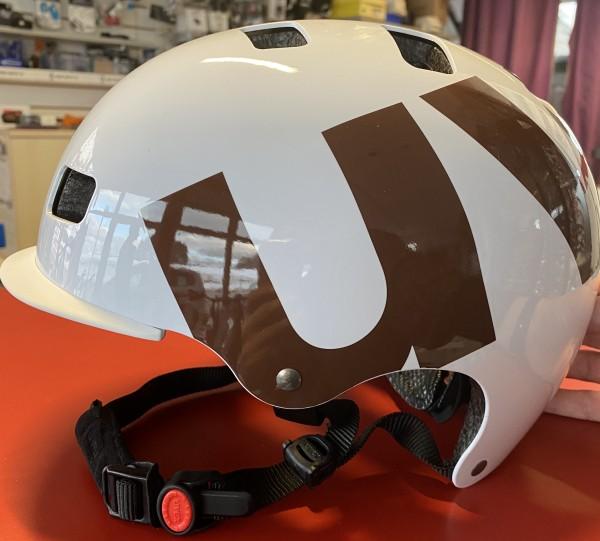 UVEX hlmt 5 58 61 cm bike pro white-brown