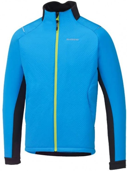 Shimano Jacke Windbreak insul. blau