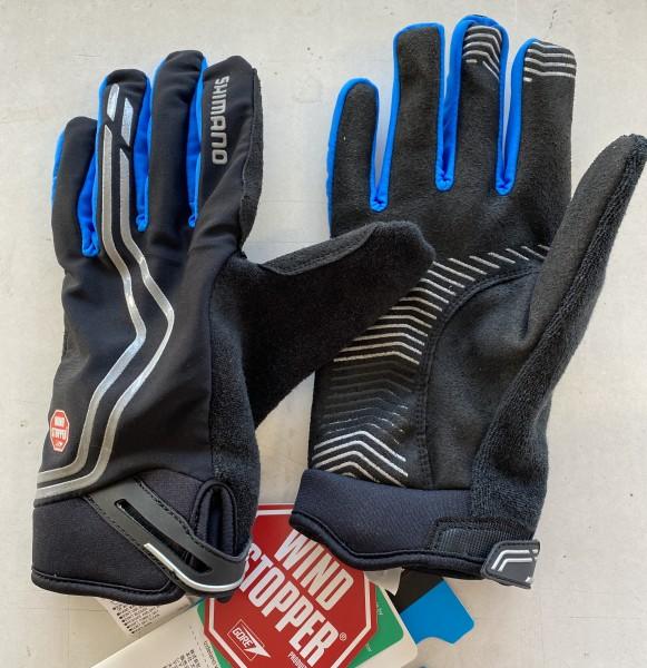 Shimano R.Handsch. Me.W-stopper Insul. XL blau lang