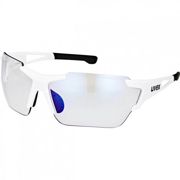 UVEX sportstyle 803 race small variomatic white / lens litemirror blue