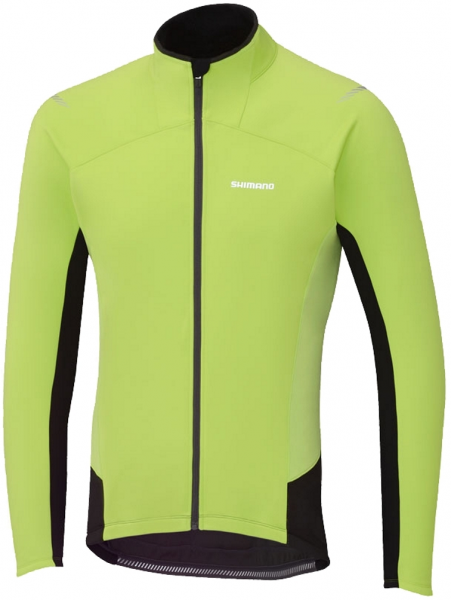 Shimano Jersey Windbreak S gelb/blk