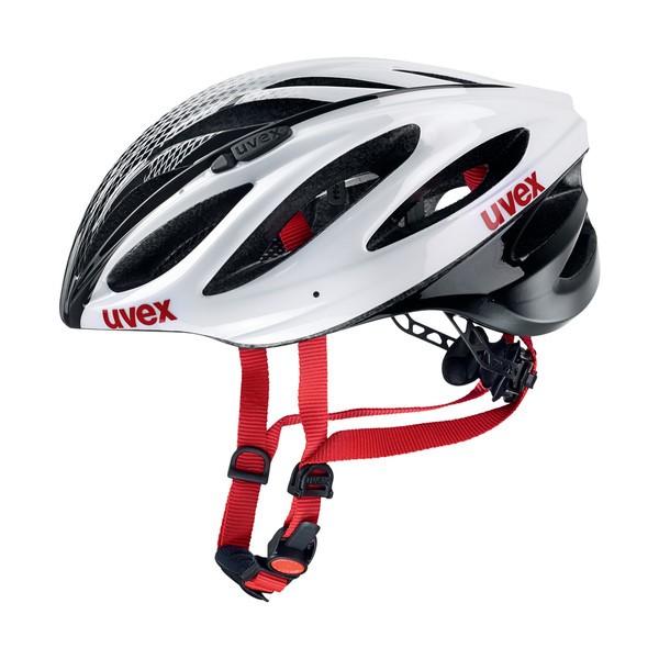 UVEX Boss Race 52-56 white-black