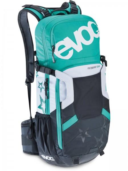 EVOC Rucksack FR Enduro Team WO 16 M/L black-white-green