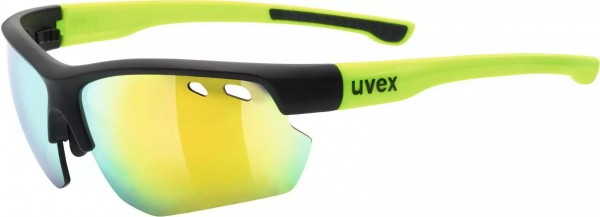 Uvex sportstyle 115 blk-matt yellow