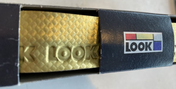 LOOK Lenkerband Carbon gold