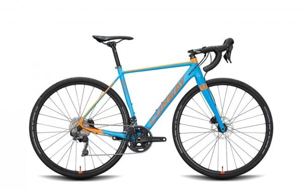 Conway GRV800 / 51M / Shim. GRX 2x11-34 blau-orange