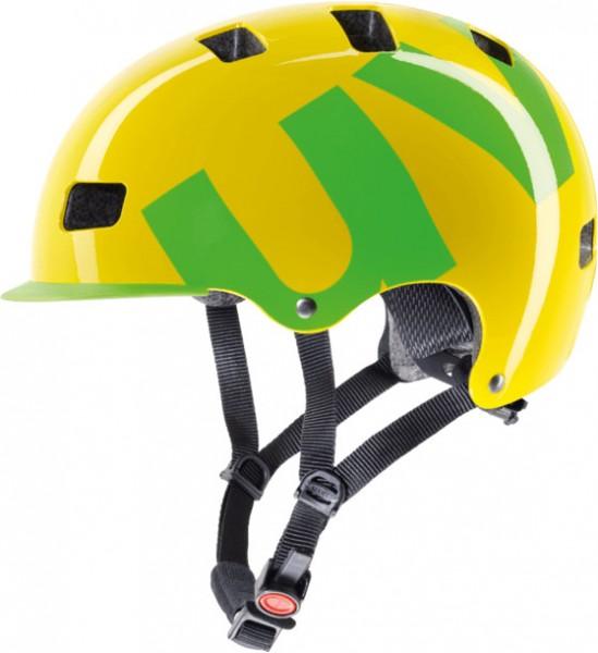 UVEX HLMT 5 55 - 58 cm bike pro yellow-green