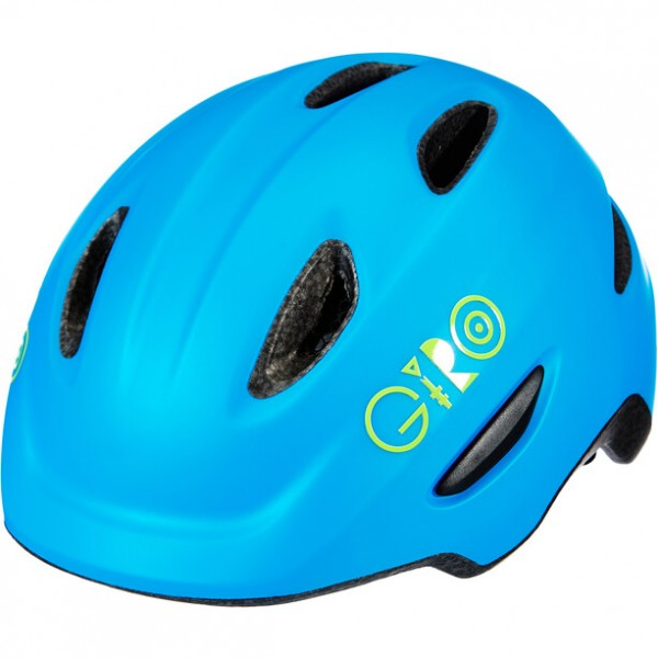 Giro Scamp 45 - 49 cm mat blue / lime
