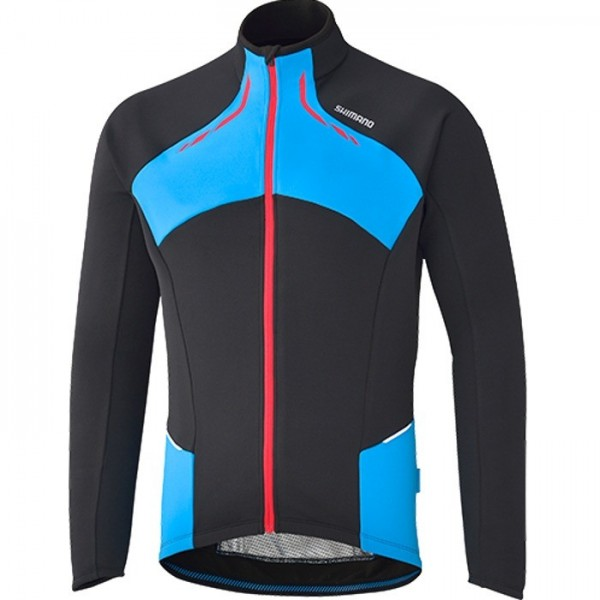 Shimano Trikot Winter blk